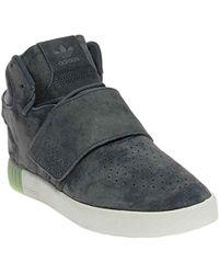 new concept f3e71 42082 adidas Originals - Tubular Invader Strap W Fashion Sneaker - Lyst