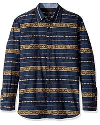 Pendleton - Long Sleeve Button Front Fitted Kyler Archive Shirt - Lyst