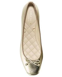 Cole Haan - Downtown Ballet Flat - Lyst