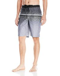 Calvin Klein - Heather Stripe E-board Swim Short - Lyst
