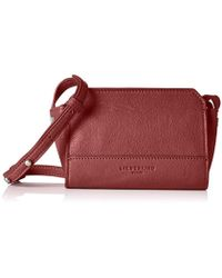 Liebeskind Berlin - Hollywood Double Dye Leather Structured Mini Crossbody - Lyst