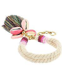Rebecca Minkoff - S Lola Rope Bracelet With Tassel - Lyst