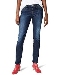 8fa08954 Tommy Hilfiger - Straight Fit Jeans - Blue - Blau (420 Absolute Blue) -