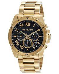 Michael Kors - Watches Brecken Chronograph Watch - Lyst