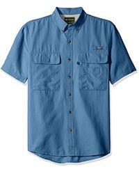 G.H.BASS - Explorer Charter Short Sleeve Solid Fishing Shirt - Lyst
