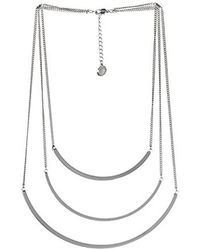 BCBGeneration - Bcbg Generation Triple Layer Necklace - Lyst