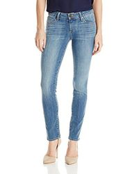 PAIGE - Skyline Ankle Peg Jeans-quill - Lyst