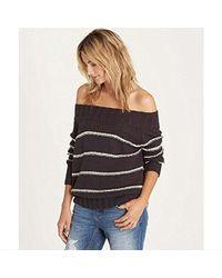 Billabong - Snuggle Down Sweater - Lyst