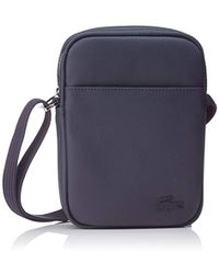 a88e82f766 Lacoste Nh2716po Shoulder Bag in Blue for Men - Save 34% - Lyst