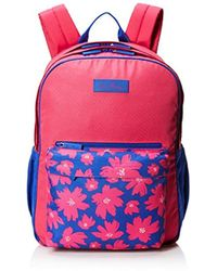 Vera Bradley - Large Colorblock Backpack, Polyester - Lyst