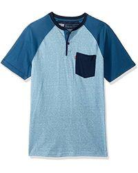 Levi's - Wally Snow Jersey Short Sleeve Shirt - Lyst