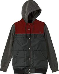 RVCA - Former Vested Hoodie - Lyst