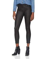 True Religion - Damen Leggings Leather Look Like Jegging - Lyst