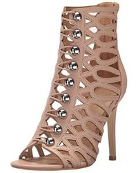 Guess - Perlina2 Heeled Sandal - Lyst