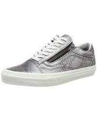 f7d1475730 Vans - Adults  Old Skool Zip Low-top Trainers - Lyst