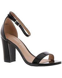 d9ef81d38ce Lyst - Madden Girl Beella Dress Sandal in Black