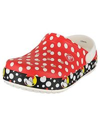 Crocs™ - Crocband Minnie Mouse Clog - Lyst