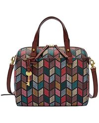 Fossil - Rachel Satchel Fall Multi - Lyst