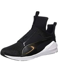 PUMA - Fierce Quilted Trainers (189418) - Lyst