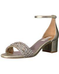 Badgley Mischka - Triana Dress Sandal - Lyst