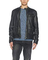 705ca7d1e Polo Ralph Lauren Farrington Bomber Jacket in Black for Men - Lyst