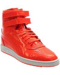 Lyst - Puma Sky Ii Hi Futur Minimal Drizzle High-top Leather Fashion ... db2a66429
