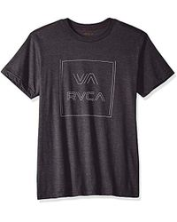 RVCA - Pinner All The Way Short Sleeve T-shirt - Lyst