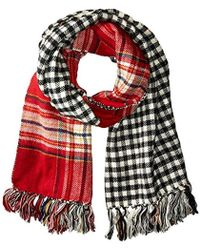 Steve Madden - Double Play-d Blanket Wrap - Lyst