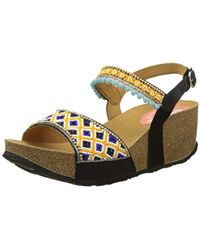 Desigual - 's Bio7 Beads Heels Sandals - Lyst