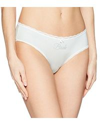 Betsey Johnson - Slinky Bridal Cheeky Panty - Lyst