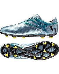Adidas messi 16 pureagility fg uomini scarpe da calcio in oro