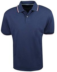 Izod - Pique Tipped Collar Polo - Lyst