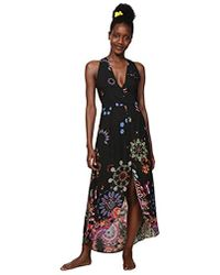 Desigual - Dress Swimwear Magda Woman Black Robe Femme - Lyst
