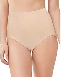 411af72ff9 Lyst - Maidenform Cover Your Bases Smoothtec Shaping Brief in Natural