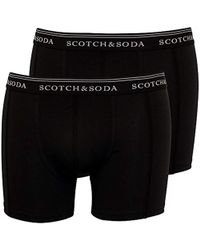 Scotch & Soda - 2 Pack Boxer Briefs - Lyst