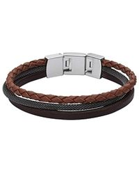 Fossil - Herren-Armband JF02213040 - Lyst