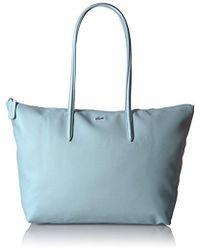 5cfef9de3cf727 Lacoste - L.12.12 Concept Large Shopping Bag - Lyst