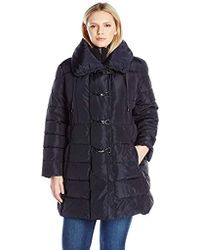Jessica Simpson - Plus Size Pillow Collar Puffer - Lyst