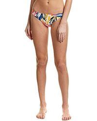 Shoshanna - Palm Leaves Classic Bikini Bottom - Lyst
