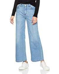 Filippa K - Ollie Light Blue Wash Flared Jeans - Lyst