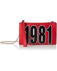 Guess Felix Cross-body Bag in Red - Lyst 383ac46cc65b4
