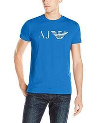 Armani Jeans - Eagle T-shirt, Black, Large - Lyst