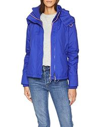 Superdry - Arctic Hooded Pop Zip Windchea Sports Jacket - Lyst