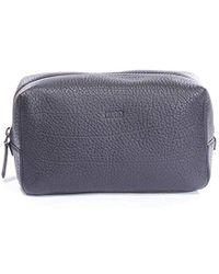 6a159e94a BOSS - Victorian_washbag 100% Cow Skin Travel Wash Bag Bags - Lyst
