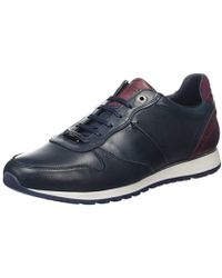 f5dc8f5bc20e5 Ted Baker Men s Shindl Suede Runner Trainers in Gray for Men - Lyst