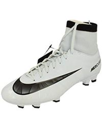 d80b8cb353f6 Nike Mercurial Victory Vi Fg Men's Football Boots In White in White ...