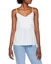 Vero Moda - Sunny Stripe Sleeveless Top - Lyst