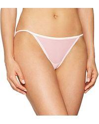 Calvin Klein Damen Bikini String - Mehrfarbig