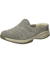 Skechers - Commute-knitastic-engineered Knit Mule - Lyst