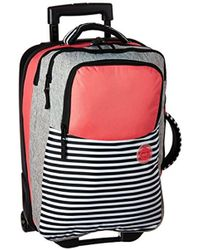 Roxy - Roll Up Flight Suitcase - Lyst